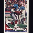 1994 Topps Special Effects Football #315 Thurman Thomas - Buffalo Bills