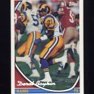 1994 Topps Special Effects Football #304 Deral Boykin RC - Los Angeles Rams