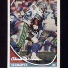 1994 Topps Special Effects Football #303 Chris Warren - Seattle Seahawks