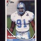 1994 Topps Special Effects Football #290 Robert Porcher - Detroit Lions