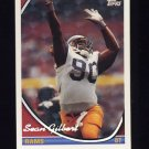 1994 Topps Special Effects Football #276 Sean Gilbert - Los Angeles Rams