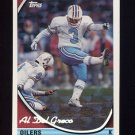 1994 Topps Special Effects Football #269 Al Del Greco - Houston Oilers