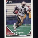 1994 Topps Special Effects Football #167 Tyrone Hughes - New Orleans Saints