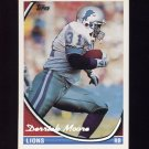 1994 Topps Special Effects Football #153 Derrick Moore - Detroit Lions