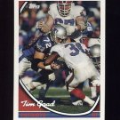 1994 Topps Special Effects Football #134 Tim Goad - New England Patriots