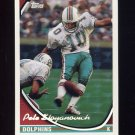 1994 Topps Special Effects Football #095 Pete Stoyanovich - Miami Dolphins