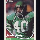 1994 Topps Special Effects Football #041 James Hasty - New York Jets