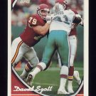 1994 Topps Special Effects Football #004 David Szott - Kansas City Chiefs