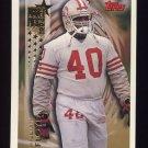 1994 Topps Football #618 William Floyd RC - San Francisco 49ers