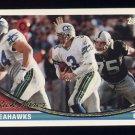 1994 Topps Football #480 Rick Mirer - Seattle Seahawks