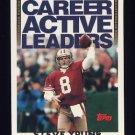 1994 Topps Football #470 Steve Young - San Francisco 49ers