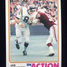 1982 Topps Football #399 Joe Senser IA - Minnesota Vikings