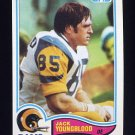 1982 Topps Football #388 Jack Youngblood - Los Angeles Rams