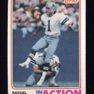 1982 Topps Football #324 Rafael Septien IA - Dallas Cowboys