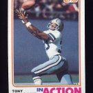 1982 Topps Football #312 Tony Dorsett IA - Dallas Cowboys