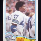 1982 Topps Football #252 Sherman Smith - Seattle Seahawks