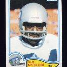 1982 Topps Football #251 Sam McCullum - Seattle Seahawks