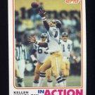 1982 Topps Football #242 Kellen Winslow IA - San Diego Chargers