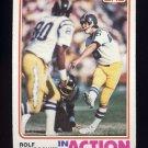1982 Topps Football #225 Rolf Benirschke IA - San Diego Chargers