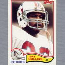 1982 Topps Football #146 Tony Collins RC - New England Patriots Ex