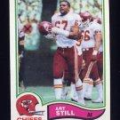 1982 Topps Football #124 Art Still - Kansas City Chiefs