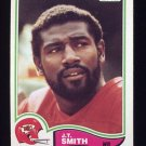 1982 Topps Football #123 J.T. Smith - Kansas City Chiefs