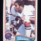 1982 Topps Football #080 Tom Jackson - Denver Broncos