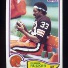 1982 Topps Football #072 Reggie Rucker - Cleveland Browns