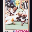 1982 Topps Football #048 Pete Johnson IA - Cincinnati Bengals