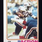 1982 Topps Football #027 Joe Cribbs IA - Buffalo Bills