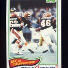 1982 Topps Football #007 AFC Championship / Ken Anderson Cincinnati Bengals