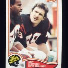 1982 Topps Football #006 Dan Ross RB - Cincinnati Bengals