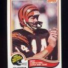 1982 Topps Football #001 Ken Anderson RB - Cincinnati Bengals