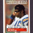1983 Topps Football #379 Chuck Muncie - San Diego Chargers