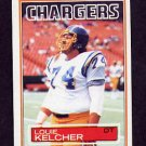 1983 Topps Football #378 Louie Kelcher - San Diego Chargers