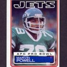 1983 Topps Football #350 Marvin Powell - New York Jets