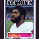 1983 Topps Football #334A Stanley Morgan - New England Patriots