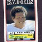 1983 Topps Football #302 Ted Hendricks - Los Angeles Raiders