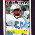 1983 Topps Football #277 Daryl Hunt - Houston Oilers