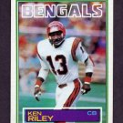 1983 Topps Football #241 Ken Riley - Cincinnati Bengals