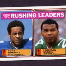 1983 Topps Football #204 Tony Dorsett / Freeman McNeil / Rushing Leaders