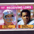 1983 Topps Football #203 Dwight Clark / Kellen Winslow / Receiving Leaders
