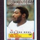 1983 Topps Football #182 Lee Roy Selmon - Tampa Bay Buccaneers