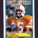 1983 Topps Football #181 James Owens - Tampa Bay Buccaneers