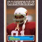 1983 Topps Football #156 Roy Green RC - St. Louis Cardinals