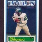 1983 Topps Football #142 Ron Jaworski - Philadelphia Eagles