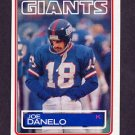 1983 Topps Football #124 Joe Danelo - New York Giants