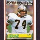 1983 Topps Football #116 Derland Moore - New Orleans Saints