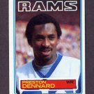 1983 Topps Football #089 Preston Dennard - Los Angeles Rams