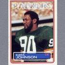 1983 Topps Football #081 Ezra Johnson - Green Bay Packers Ex